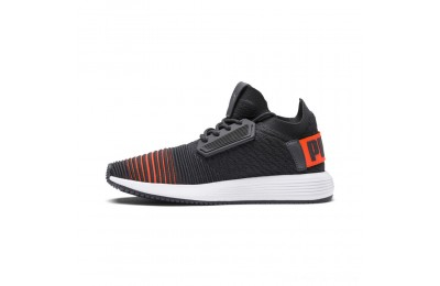 Puma Uprise Color Shift JR Sneakers Iron Gate-Orange-White Outlet Sale