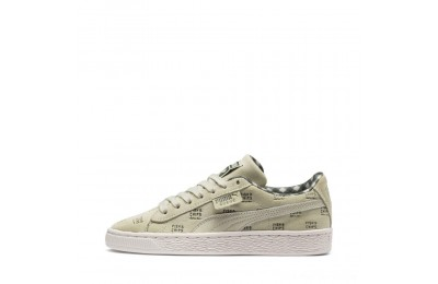 Puma PUMA X TINYCOTTONS Suede JRAlfalfa-Thyme-Birch Outlet Sale