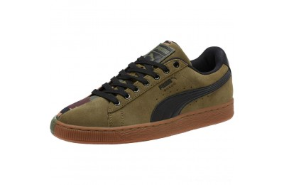 Puma Suede SP Sneakers Burnt Olive- Black Outlet Sale