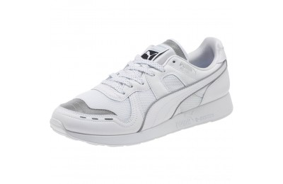 Black Friday 2020 Puma RS-100 Optic Men's Sneakers P White-P Silver- White Outlet Sale