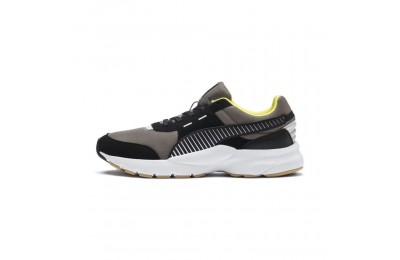 Black Friday 2020 Puma Future RunnerCharcoal Gray-P.Blk-P. Wht Outlet Sale