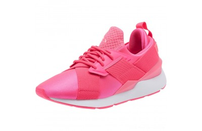 Black Friday 2020 Puma Muse Satin EP Pearl Women's Sneakers KNOCKOUT PINK Outlet Sale