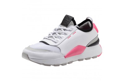 Puma RS-0 SOUND Women's Sneakers Wht-GrayViolet-KNOCKOUTPINK Outlet Sale