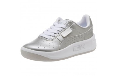 Black Friday 2020 Puma California Metallic Sneakers PSSilver- White Outlet Sale