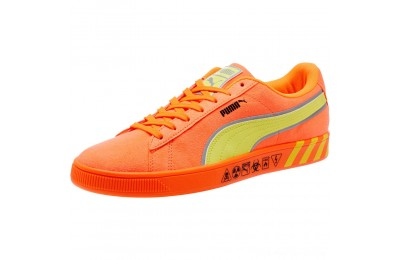 Black Friday 2020 Puma Puma Hazard Orange Suede Sneakers Shocking Orange-Lemon Tonic Outlet Sale