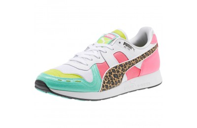 Black Friday 2020 Puma RS-100 Party Croc Sneakers White- Green-KNOCKOUT PINK Outlet Sale