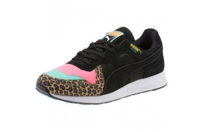 Black Friday 2020 Puma RS-100 Party Cheetah Sneakers KNOCKOUT PINK- Black Outlet Sale