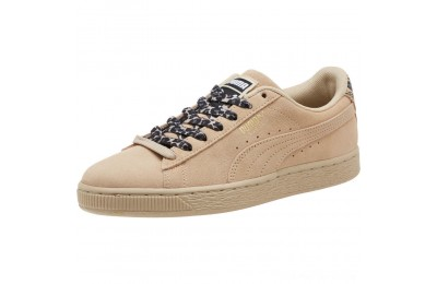 Puma Suede Wild Women's Sneakers Pebble- Gold- Black Outlet Sale