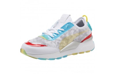 Black Friday 2020 Puma RS-0 Optic Filter Men's Sneakers Wht-AQS-Vbrnt Ylw-HRR Outlet Sale