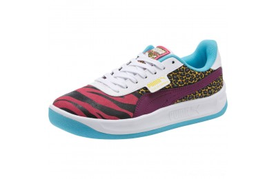 Black Friday 2020 Puma California Animal Women's Sneakers Beetroot Purple-Phlox- White Outlet Sale