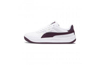 Black Friday 2020 Puma California Scratch Women's Sneakers White-Fig- Ash Outlet Sale
