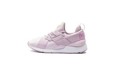 Puma Muse Satin II Women's Sneakers Winsome Orchid-Smoky Grape Outlet Sale