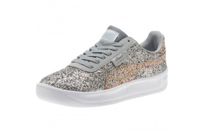 Black Friday 2020 Puma California Glitz Women's Sneakers Silver-CERULEAN-Quarry Outlet Sale