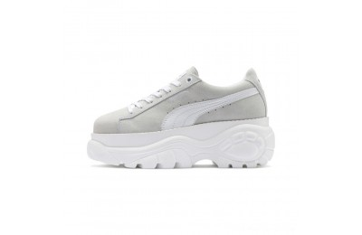 Puma PUMA x Buffalo Suede Women's Sneakers White- White Outlet Sale