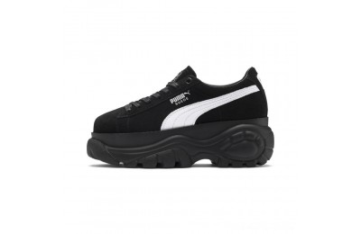 Puma PUMA x Buffalo Suede Women's Sneakers Black- Black Outlet Sale
