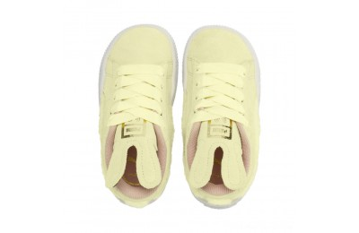 Puma Suede Easter AC Sneakers INFYELLOW-Coral Cloud-Gold Outlet Sale