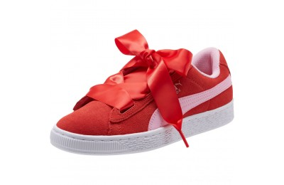 Black Friday 2020 Puma Suede Heart Radicals Sneakers JRHibiscus -Pale Pink Outlet Sale