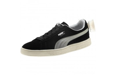Black Friday 2020 Puma Suede Jelly Bow Sneakers JR Black-Glac Gray-Silver Outlet Sale