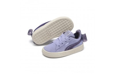 Puma Suede Jelly Bow AC Sneakers INFSweetLavender-Indigo-White Outlet Sale