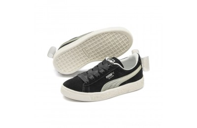 Black Friday 2020 Puma Suede Jelly Bow AC Sneakers INF Black-Glac Gray-Silver Outlet Sale