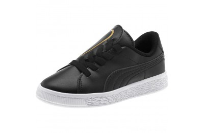 Black Friday 2020 Puma Basket Crush AC Sneakers PS Black- Team Gold Outlet Sale