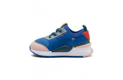 Puma Sesame Street 50 RS-0 AC Sneakers INFVeiled Rose-Indigo-BlueCoral Outlet Sale