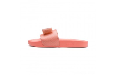 Puma Leadcat Jelly Bow Slide Sandals JRPeach Bud-Bright Peach Outlet Sale