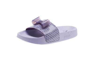 Puma Leadcat Jelly Bow Slide Sandals PSIndigo-Sweet Lavender Outlet Sale