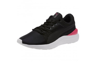 Puma Adela Girl's Sneakers JR Black- Black Outlet Sale