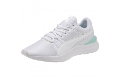 Puma Adela Girl's Sneakers JR White- White Outlet Sale
