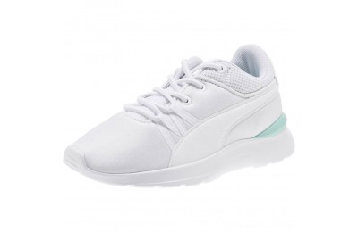 Puma Adela AC Girl's Sneakers PS White- White Outlet Sale