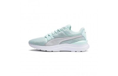 Black Friday 2020 Puma Adela Spark Girl's AC Sneakers PSFair Aqua- Silver Outlet Sale