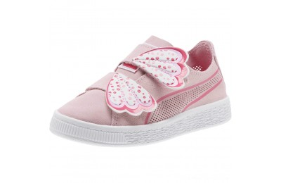 Puma Suede Deconstruct Butterfly Sneakers PSPale Pink-Fuchsia Purple Outlet Sale