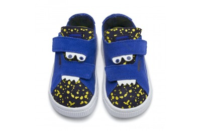 Puma Suede Deconstruct Monster Sneakers INFSurf The Web-Peacoat-Yellow Outlet Sale