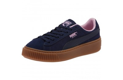 Puma Suede Platform Radicals Sneakers JRPeacoat-Pale Pink Outlet Sale