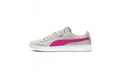 Black Friday 2020 Puma PUMA Vikky v2 Summer Women's Sneakers Silver Gray-F Purple-Silver Outlet Sale