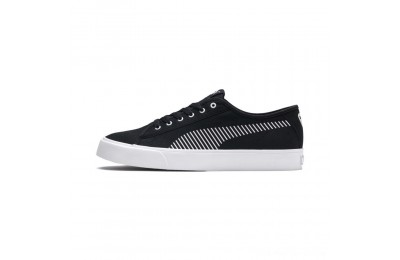 Black Friday 2020 Puma Bari Sneakers Black- White Outlet Sale