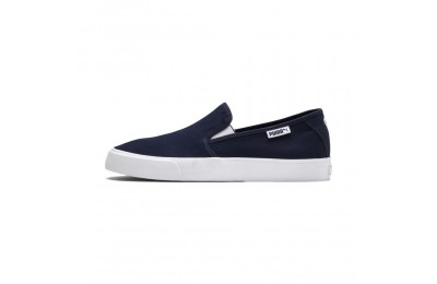 Puma Bari Slip-On Unisex Shoes Peacoat- White Outlet Sale