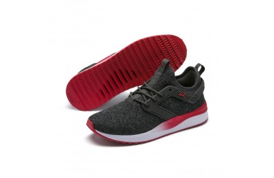 Black Friday 2020 Puma Pacer Next Excel VariKnit Sneakers Dark Shadow-High Risk Red Outlet Sale