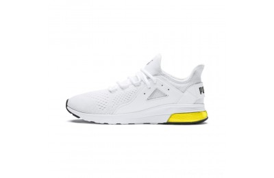 Black Friday 2020 Puma Electron Street Eng Mesh White- Black-Yellow Outlet Sale
