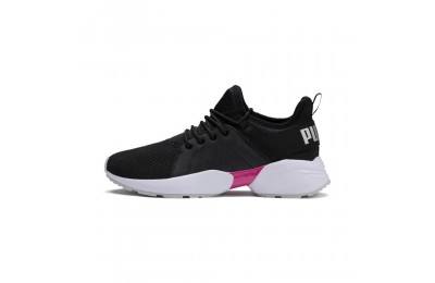 Black Friday 2020 Puma Sirena Summer Women's Sneakers Black- White Outlet Sale