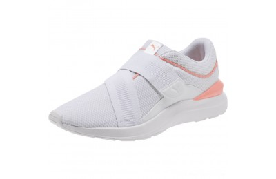 Puma Adela X Women's Sneakers White-Peach Bud Outlet Sale