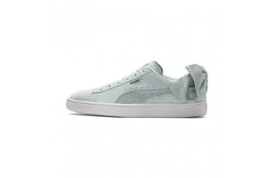 Black Friday 2020 Puma Suede Bow Hexamesh Women's Sneakers Fair Aqua-Ponderosa Pine Outlet Sale
