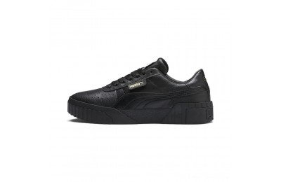 Black Friday 2020 Puma Cali Women's Sneakers Black- Black Outlet Sale
