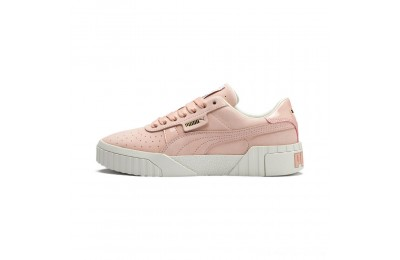 Puma Cali Nubuck Women's Sneakers Peach Bud-Peach Bud Outlet Sale