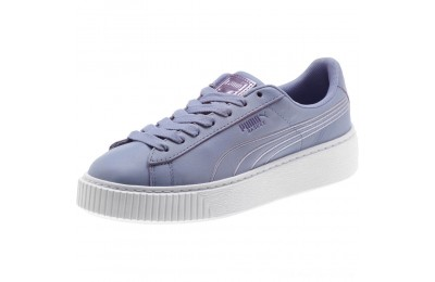 Black Friday 2020 Puma Basket Platform Twilight Women's Sneakers Sweet Lavender- White Outlet Sale
