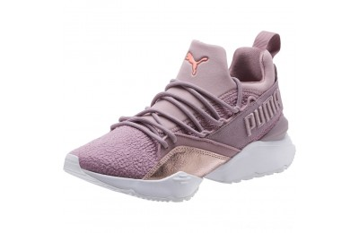 Black Friday 2020 Puma Muse Maia Bio Hacking Women's Sneakers Elderberry-Bright Peach Outlet Sale