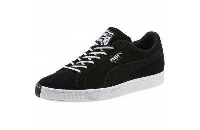 "Puma Suede Classic ""Other Side"" Sneakers Black- White Outlet Sale"