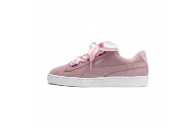 Puma Suede Heart Galaxy Women's Sneakers Pale Pink- Silver Outlet Sale