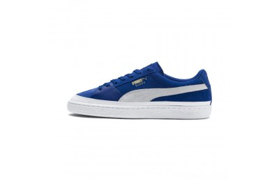Puma Suede Skate Sneakers Surf The Web- White Outlet Sale